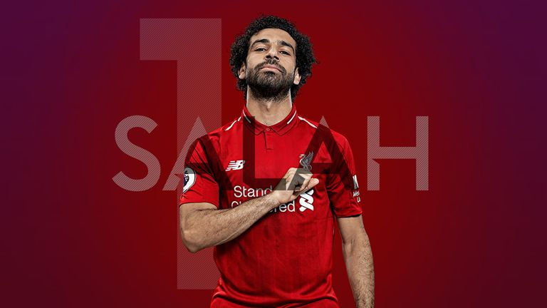 Mohamed Salah completes our countdown of the best Premier League players of 2018