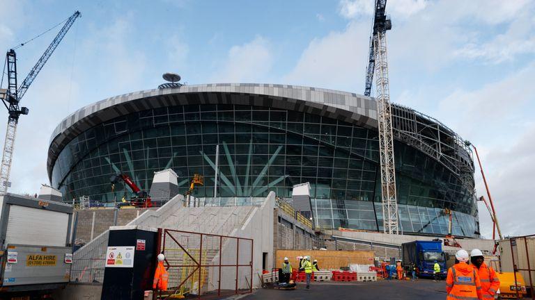Tottenham's new White Hart Lane ground has faced delays