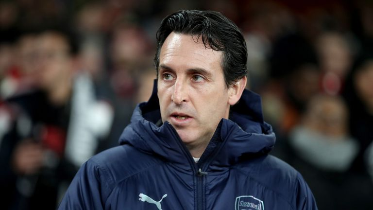 Unai Emery's Arsenal have lost back-to-back games for the first time since August