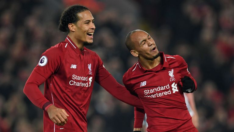 Virgil van Dijk has brought calmness to the Liverpool defence since his arrival