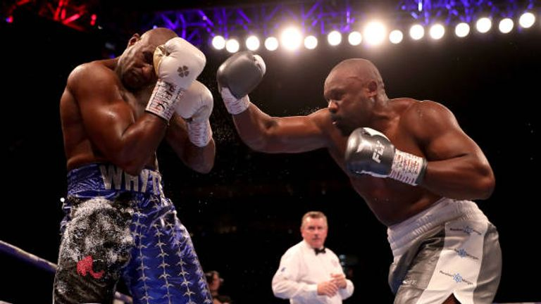 Whyte KO'd Chisora in their most recent fight