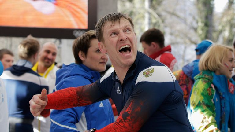 Alexandr Zubkov won two gold medals at the Sochi Olympics, but was disqualified for doping