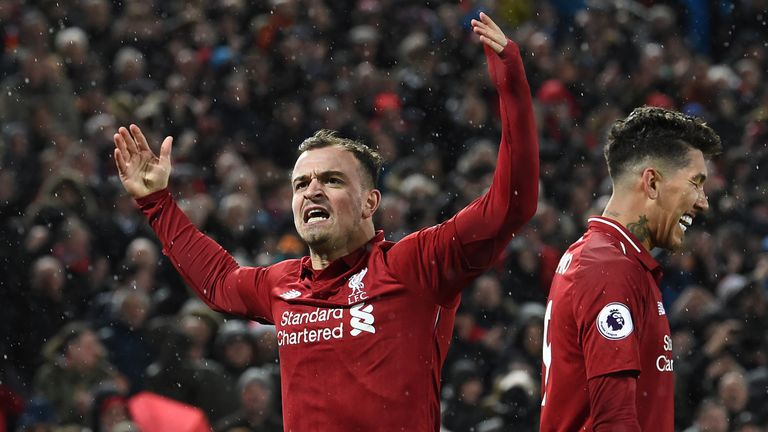 Match report Liverpool v Manchester United 16 December 2018