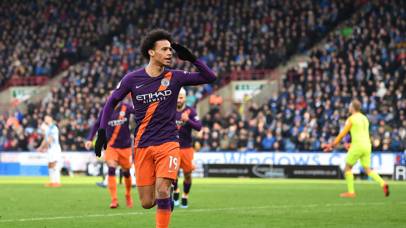 Manchester City news: 'Incredible' Leroy Sane will be fit ...  |Leroy Sane