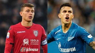 Nicolo Barella and Leandro Paredes have been linked with Chelsea
