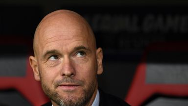 Erik Ten Hag's Ajax could have gone top for the first time this season