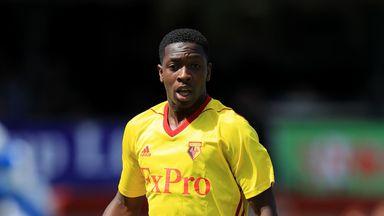 Michael Folivi has made one Premier League start for Watford