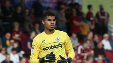 Robert Sanchez has had his loan spell at Forest Green Rovers cut short
