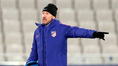 Diego Simeone is committed to Atletico Madrid
