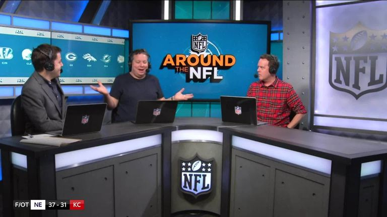 We hear from the Around the NFL podcast team and get their take on the NFC and AFC Championship matches.