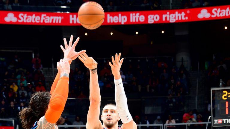 Alex Len fires a jump shot