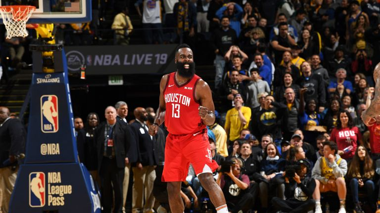 Harden leads Houston into matchup with Toronto