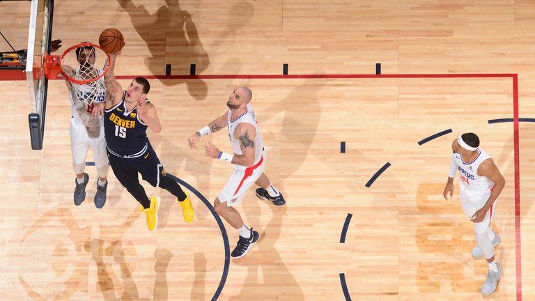 James Johnson's vicious dunk on Kyrie Irving as Miami Heat beat Boston Celtics | NBA News |