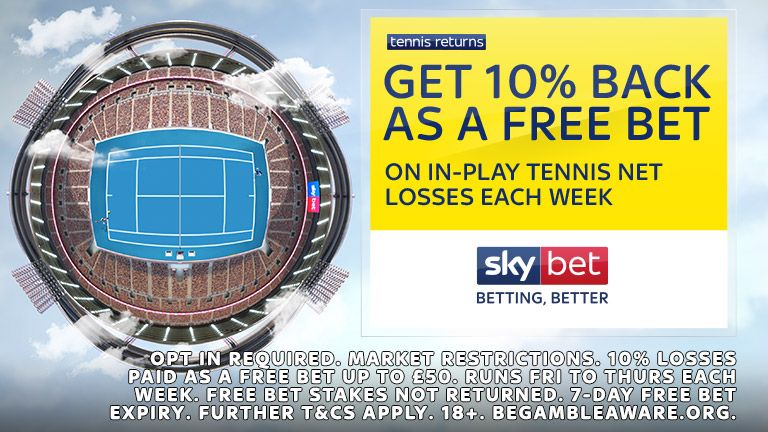 Sky Bet Tennis Returns