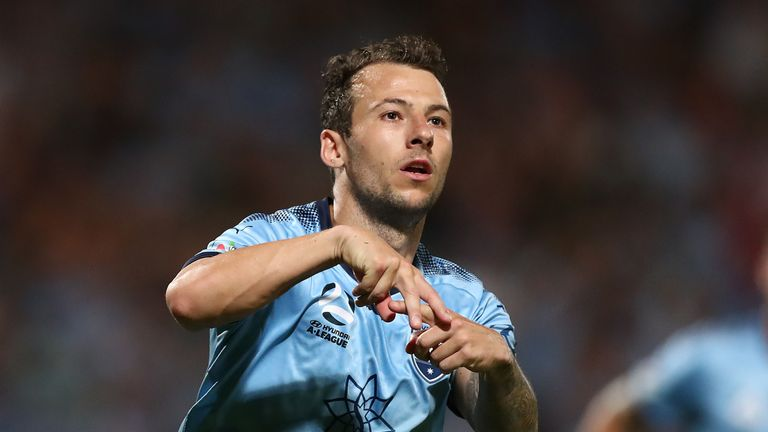 Le Fondre became the fastest man to 10 goals in Australia's A-League