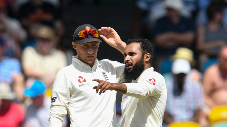 Adil Rashid bowled just nine overs in the second innings during England's defeat by Windies