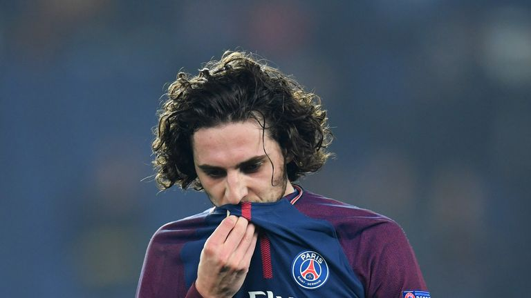 Barcelona have reportedly cooled their interest in Adrien Rabiot