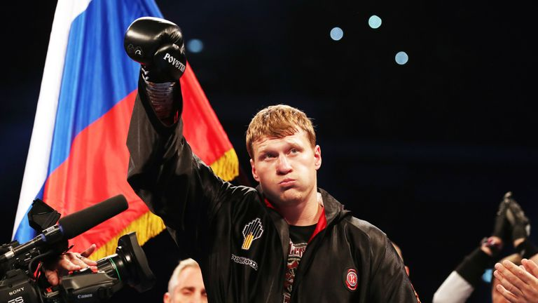 Alexander Povetkin is set to return to the ring in early 2019
