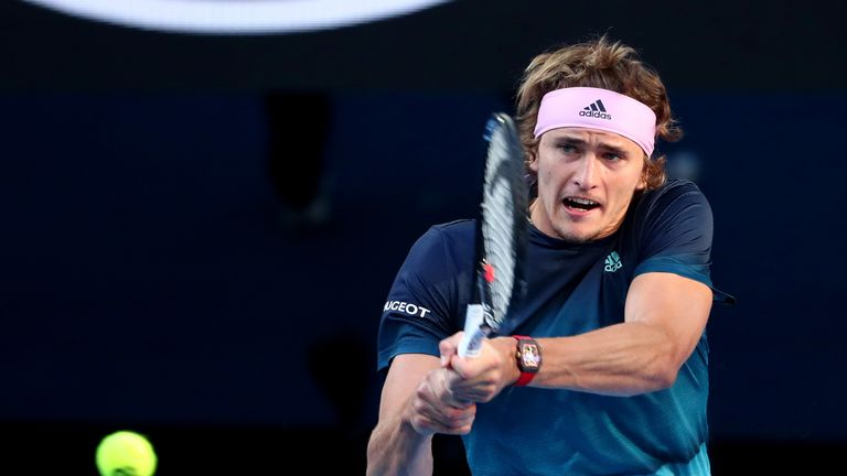 Alexander Zverev is aiming for a first Grand Slam title