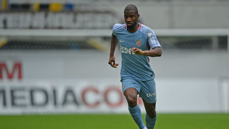 Almamy Toure played 80 times for Monaco after coming through the ranks