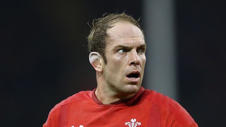 Will Alun Wyn Jones become the first player to play 150 Tests?
