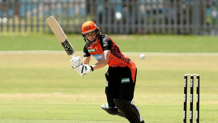 Jones was the third-highest run scorer for Perth Scorchers in the WBBL in 2018
