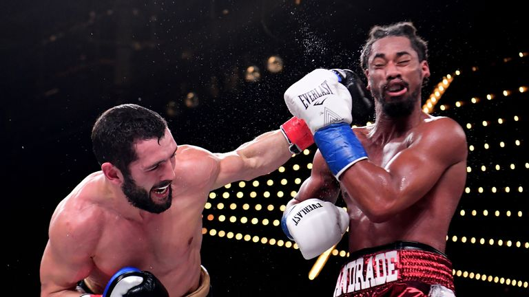 Artur Akavov finally had some success in the ninth round