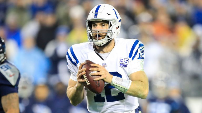 c9ce9555a Andrew Luck and the Indianapolis Colts face the Houston Texans on Saturday
