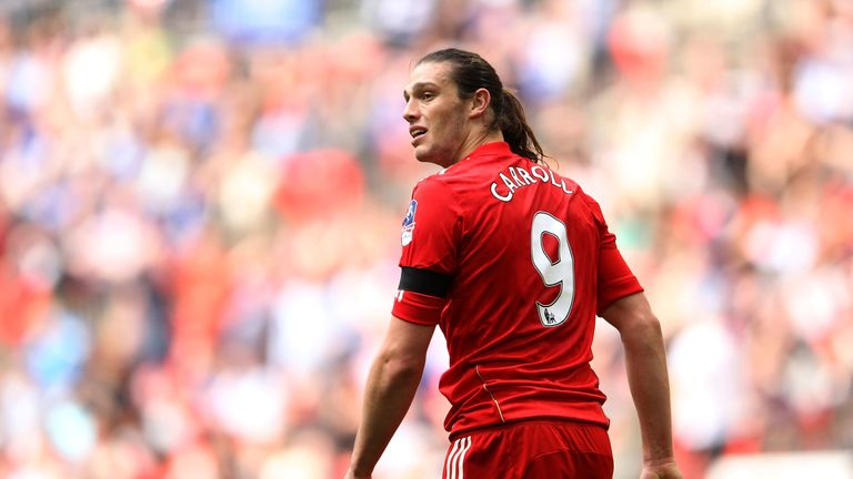 Andy Carroll scored just six goals for Liverpool