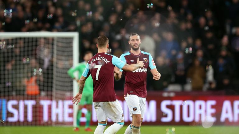 Andy Carroll and Marko Arnautovic are staying, according to Manuel Pellegrini