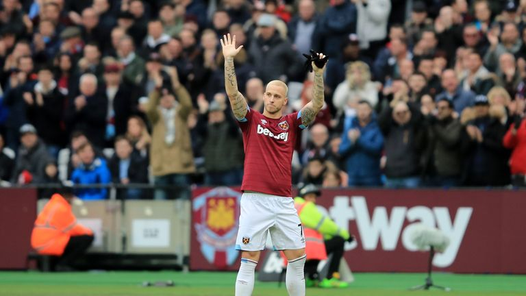 Arnautovic could be in the goals against Huddersfield