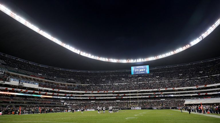 One match in the 2019 season will be played at the Azteca Stadium in Mexico City