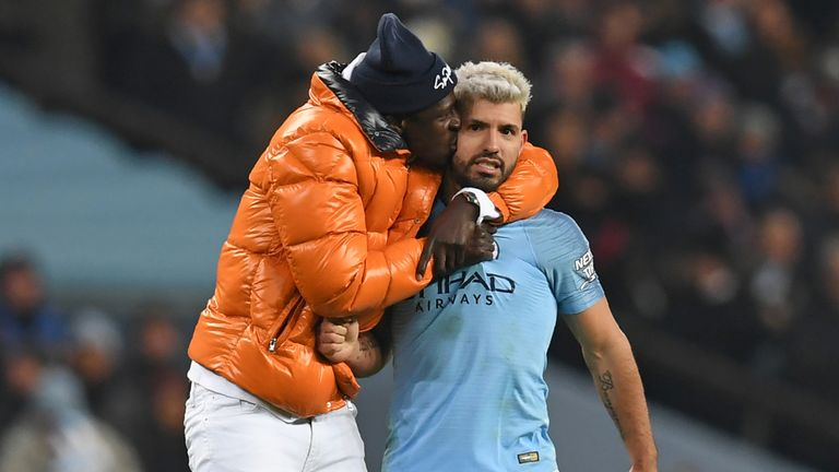 Benjamin Mendy has often been seen celebrating with his team-mates during his injury lay-offs