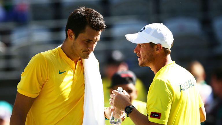 Hewitt is right not to consider Tomic for Davis Cup selection, says Craig Tiley