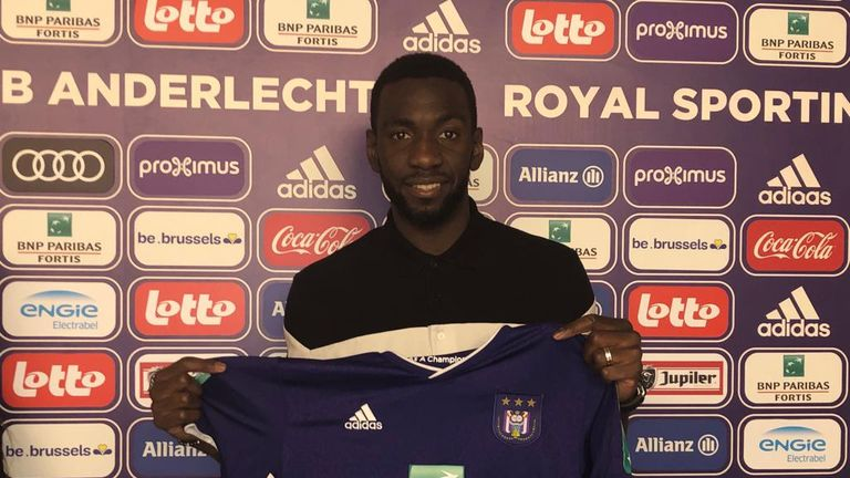 Yannick Bolasie completed a Deadline Day loan move to Anderlecht
