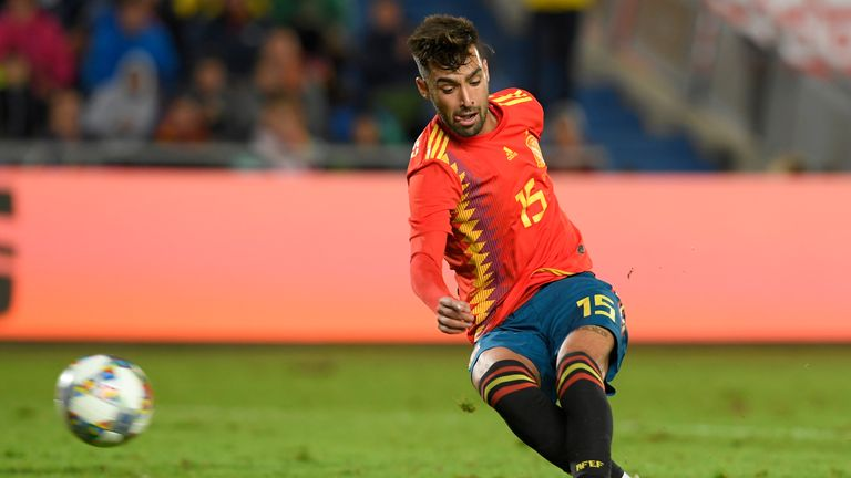 Brais Mendez scored the winner on his debut for Spain in the friendly win over Bosnia-Herzegovina.