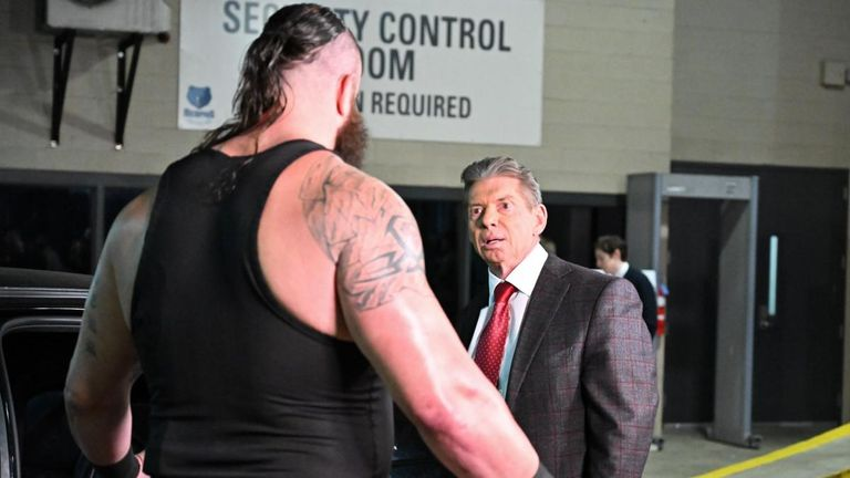 Braun Strowman's Universal title match against Brock Lesnar bit the dust after he attacked Vince McMahon's limousine