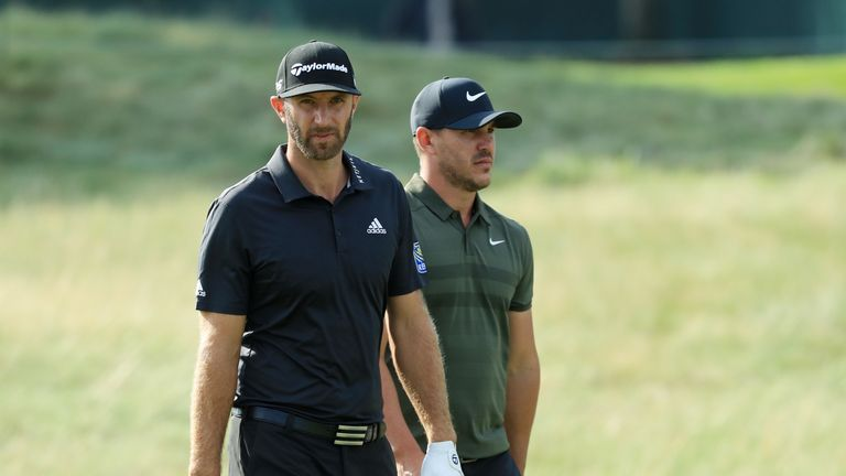 Dustin Johnson faces competition from compatriot Brooks Koepka in Florida