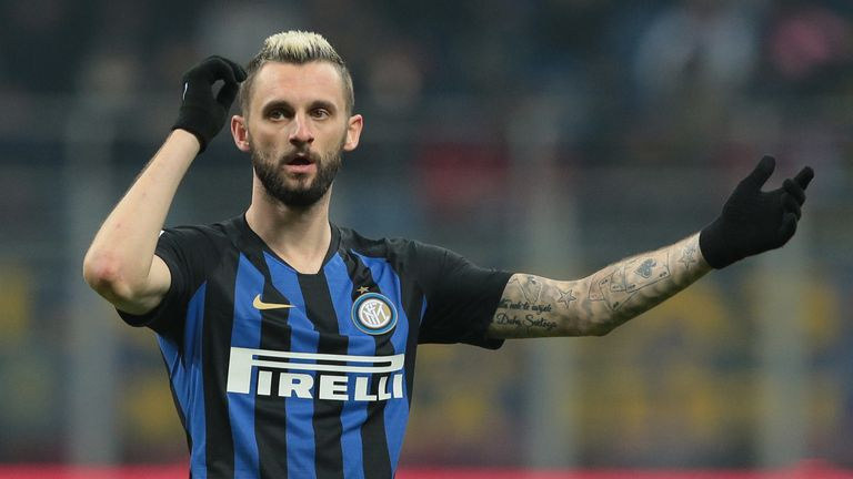 Marcelo Brozovic will be set out to cut AC Milan attacks out