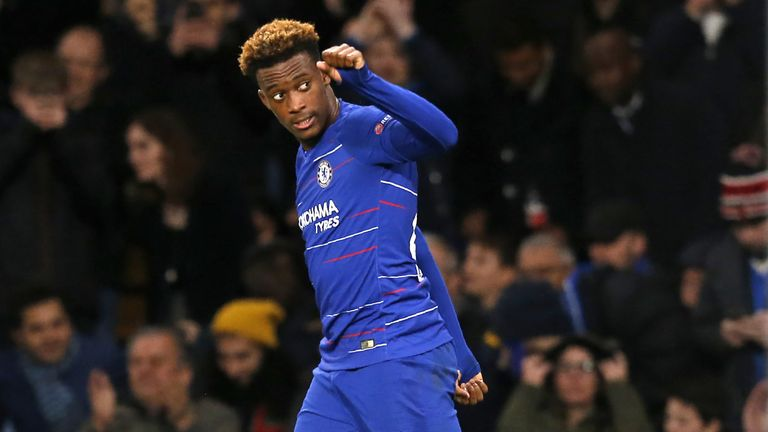 Hudson-Odoi has made ten appearances for Chelsea this season