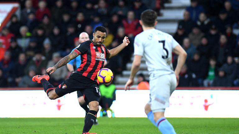 Callum Wilson fires in a brilliant 10th league goal of the season