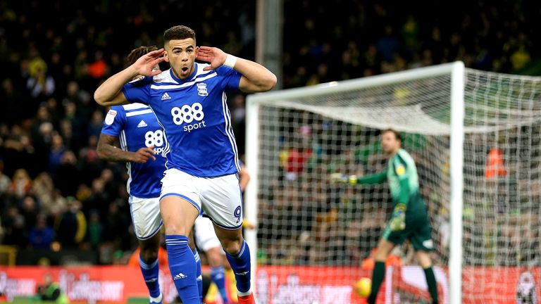 Che Adams has scored 14 goals in 30 games for Birmingham this season