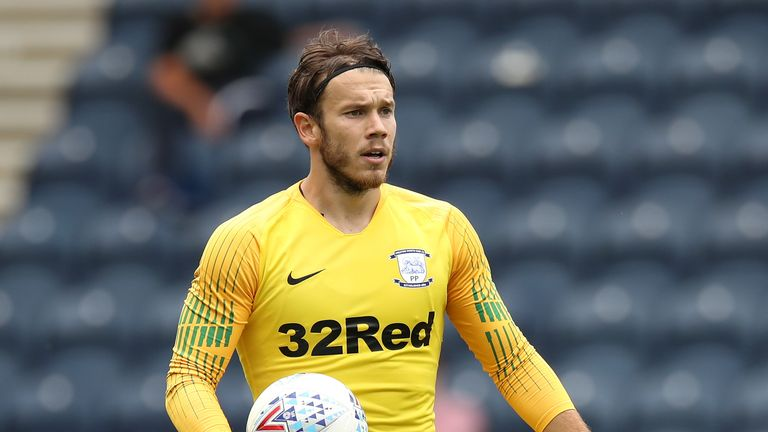 Chris Maxwell made 83 appearances for Preston after joining in 2016