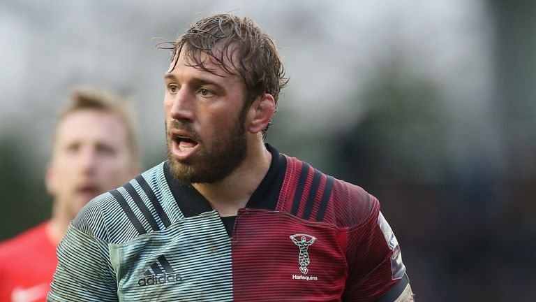 Chris Robshaw returned to action at the end of January in the Premiership Rugby Cup after being out since October due to knee surgery