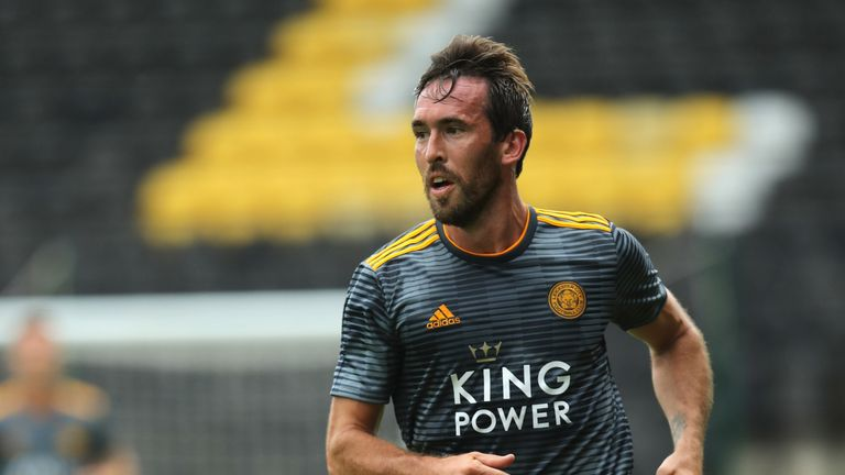 Christian Fuchs has been out of favour at Leicester this season