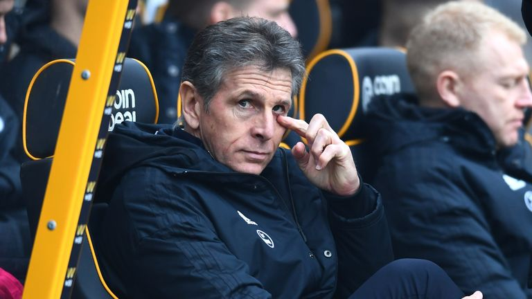 Claude Puel has guided Leicester to 11th in the Premier League so far this season