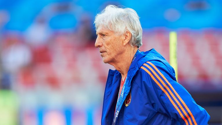 Jose Pekerman stood down as Colombia coach in September after six years in charge