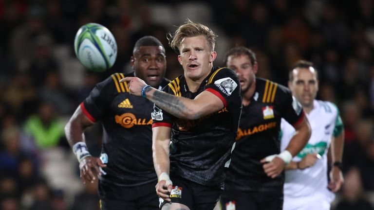 The Chiefs' Damian McKenzie finished the 2018 campaign with 177 points to his name