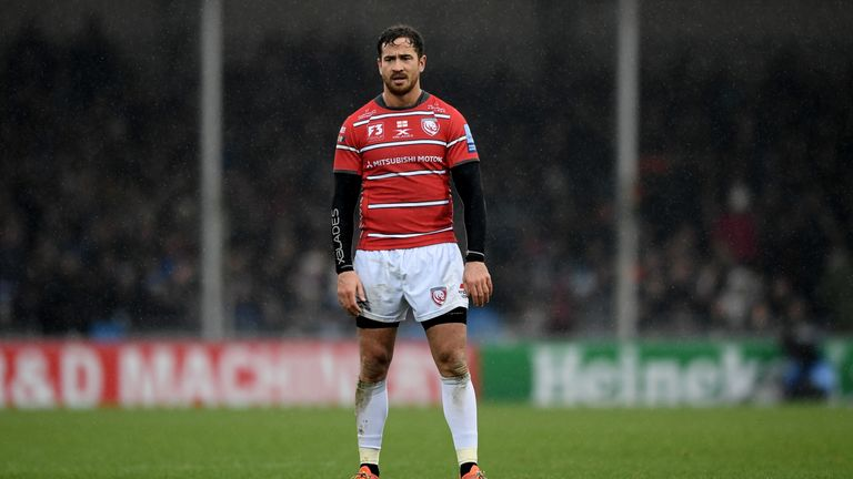 Gloucester's Danny Cipriani has fallen out of favour with England head coach Eddie Jones