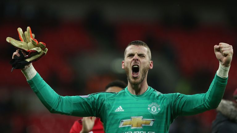 Ed Woodward hopes David de Gea will have signed a contract extension before the end of the season